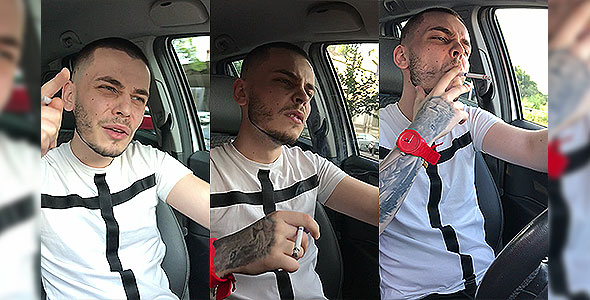 Humiliation while driving