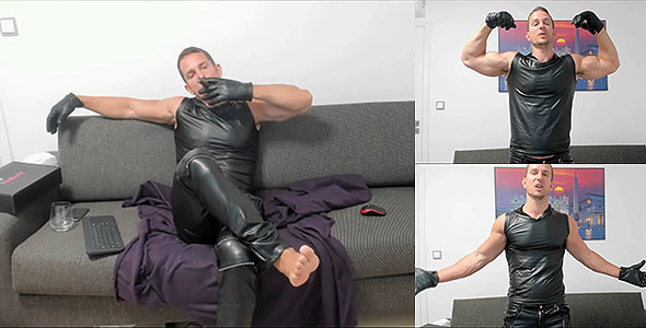 LEATHER AND CIGAR FETISH
