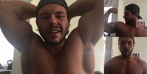Popper Pecs and Biceps