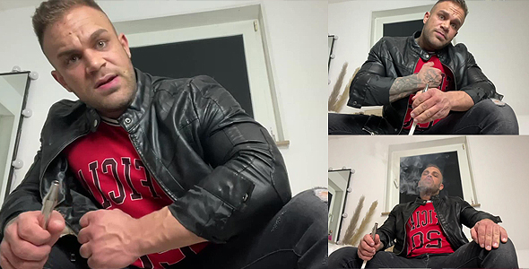 Poppers - leather - smoking